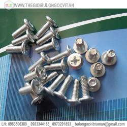 Vít bulong tán dẹt (Flat screw)